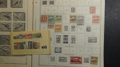 San Marino stamp collection on Minkus + Var. pages w/ 560 or so stamps to '80s