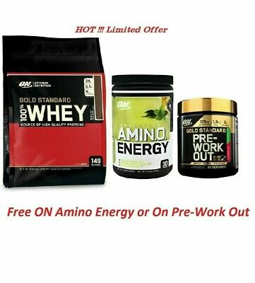NEW SEALED!!! GOLD STANDARD 100% WHEY BY OPTIMUM NUTRITION 10 LBS/ ex date: 2021