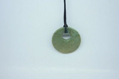 Greenstone Carving -Round  New Zealand Gifts Hand Made Carving Pounamu Kids size