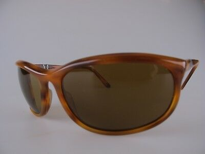 cc6bb397f38 Vintage 80s Persol Ratti 58230 Sunglasses Men s Medium Etched Lens Made in  Italy
