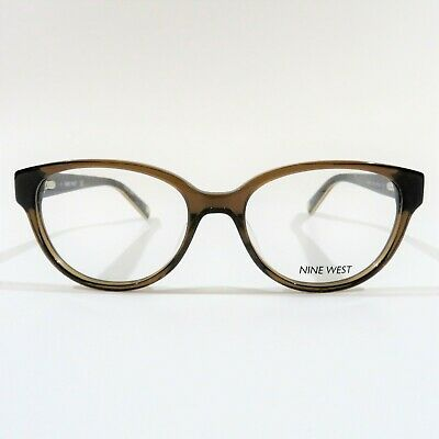 0e22ba25bf New NINE WEST Optical Eyeglasses RX Frame NW 5101 210 Crystal Brown 51-16-