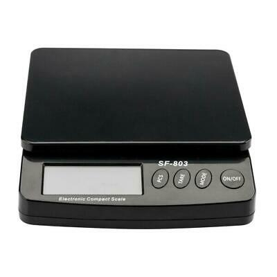 66lb x 0.1oz Digital Postal Shipping Scale Weight Postage Counting + 4x Battery