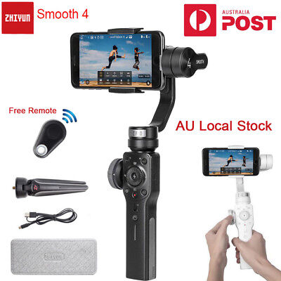 Zhiyun Smooth 4 3-Axis Handheld Gimbal Stabilizer for iPhone XS Max 8 6S Android