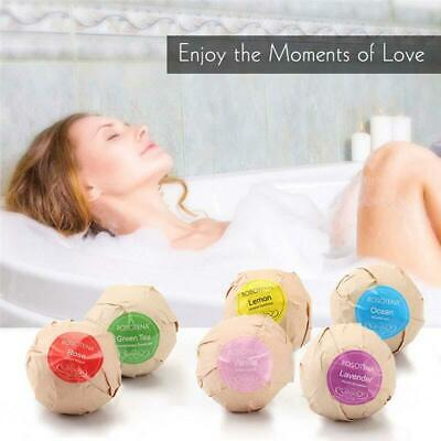 Beauty & Health Brave Organic Bath Bombs Body Essential Oil Bath Ball Natural Bubble Bath Bombs Ball Rose Lavender Lemon Milk Bath Bombs Bombe De Bain