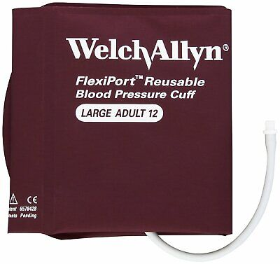 Welch Allyn Flexiport BP Cuff Screw Connector, 1-Tube, Large Adult (Size 12)