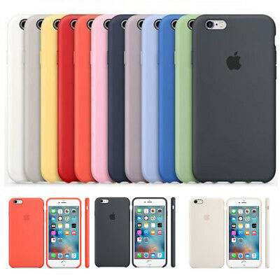 Case For Apple iPhone XS XR 8 7 6S Plus Genuine Hard Silicone Hybrid Phone Cover