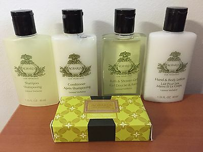 NEW AGRARIA 5 pc Luxury Toiletry Set Shampoo Conditioner Shower Body Lotion