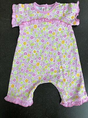 bd016dc1764 Girls Boutique NEW BABY LULU Ruffle Romper 6 months Pink Floral Thora