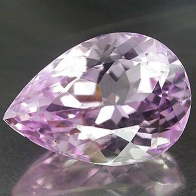 Sparkling 9.0ct Pear Shape Natural Earth Mined Pink Kunzite 11717