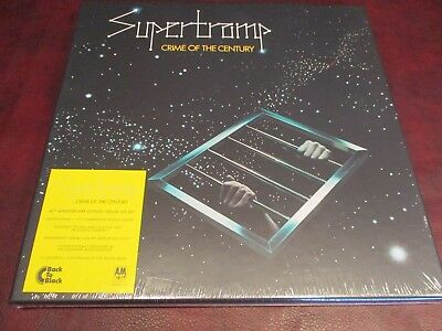 Supertramp Crime Of The Century 40Th Anniversary 3 Lp''s Booklet & More Box Set