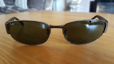 135c898c15 RAY-BAN RB3141 004 60x18 GRADIENT MIRROR POLARISED SUNGLASSES - IMMACULATE