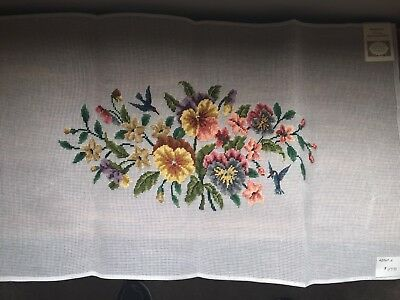 Madeira Luxury Needlepoint Canvas Floral #2569/2