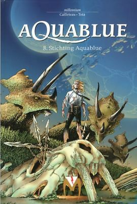 Aquablue 8: Stichting Aquablue.              Hardcover, 1ste druk!