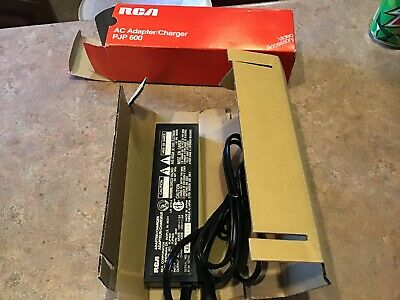 RCA  AC ADAPTER/CHARGER PJP 600 IN ORIGINAL BOX VHS VCR NEW NOS Made In Japan