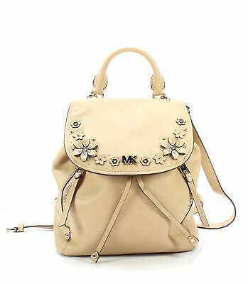 593d19bb93ce Michael Kors NEW Butternut Gold Evie Pebble Leather Small Backpack $368-  #010