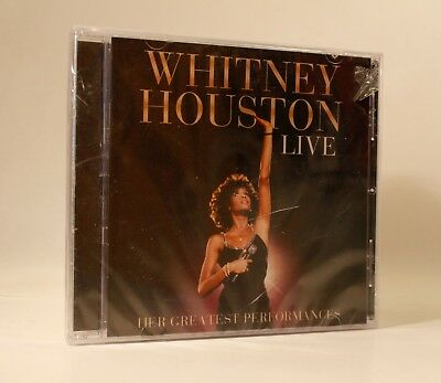 WHITNEY HOUSTON LIVE Her Greatest Performances (CD, 2014)