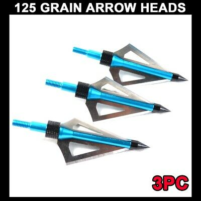Willow Leaf Broadheads 150 Grain Crossbow Arrowheads Perfect For Hunting GZ T2