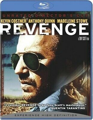 REVENGE New Sealed Blu-ray Unrated Director's Cut Kevin Costner