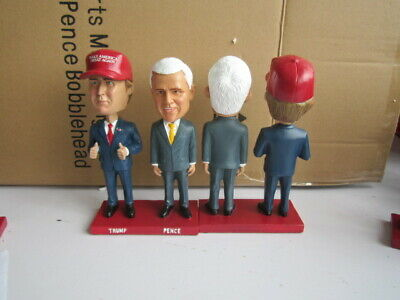 Donald Trump and Mike Pence Bobblehead Dual Bobble Head New in box