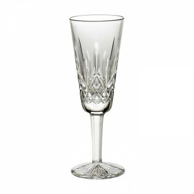 """Waterford Crystal Lismore Champagne Flute Stemware 7 1/4"""" - Mint"""
