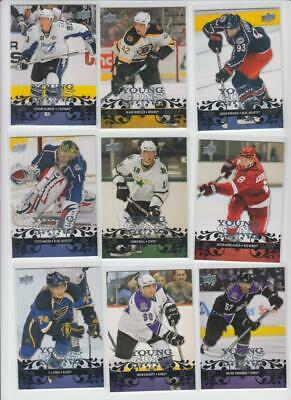 2008-09 Upper Deck Complete Set Of 100 Young Guns 201-250/451-500 Stamkos++