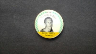 Melbourne Olympic Games 1956 David Thiele Button Badge