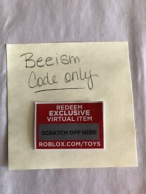 Roblox Series 2 ~ Beeism ~Code Only