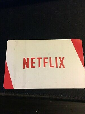 $25 Netflix Giftcard Never Been Used