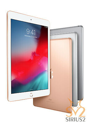 "NEU Apple iPad 9.7"" 128GB Wi-Fi Version - Space Grey/Silver/Gold (2018 Version)"