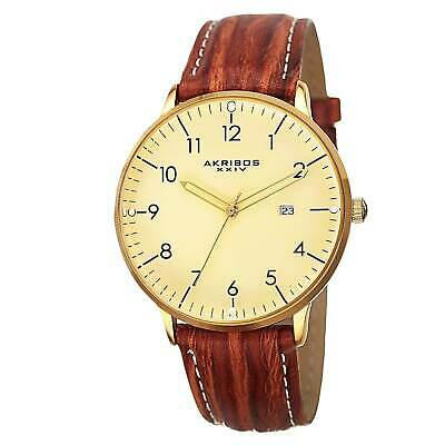 c26a204a2e8 GUCCI G-TIMELESS SWISS Quartz Gold Tone Leather Strap Men s Watch ...