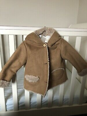 34e672c6d ZARA BABY UNISEX Boy Girl Red Puffa Jacket Coat Size 12-18 Months ...