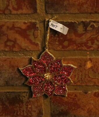 Pier 1 Christmas Ornaments.Pottery Barn Pier One Imports Large Beaded Metalwork