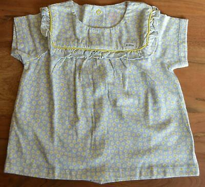 New Baby Mini Boden  Size 3 6 12 18 24 Months 2 3 4 Years Daisy Jersey Top