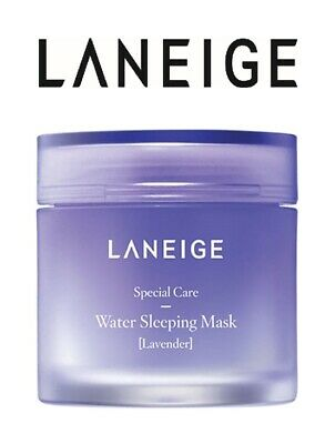 Laneige New Water Sleeping Mask Night Treatment Soothing Lavender Skin Care 15ml