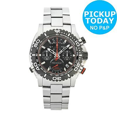 Bulova Men's Precisionist Champlain Chronograph Stainless Steel Watch