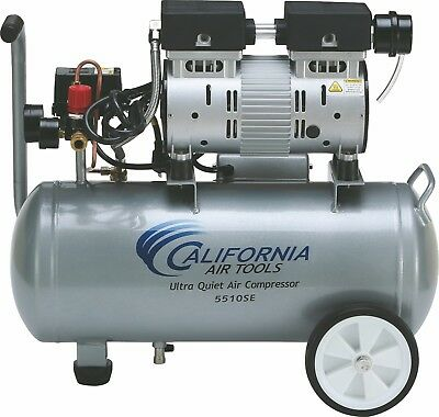 CALIFORNIA AIR TOOLS 5510SE Ultra Quiet & Oil-Free Air Compressor