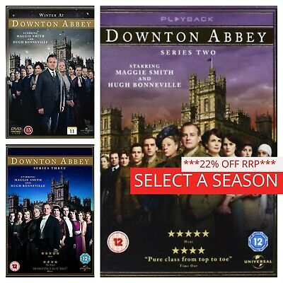 Downton Abbey Season Series 1 2 3 4 5 6 DVD 1-6 Complete Box Set Collections NEW