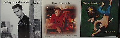 "LOT OF 3 ""She"" Harry Connick, Jr., ""When My Heart Finds Christmas & Star Turtle"""