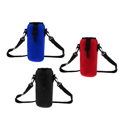 Sports Water Bottle Insulated Bag Pouch Holder Sleeve 1000ml