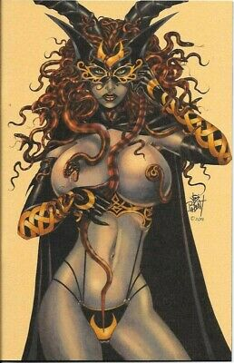 Tarot: Witch of the Black Rose #9 Lim #6 of 15 Reissue Gold Cvr Edit Signed NM