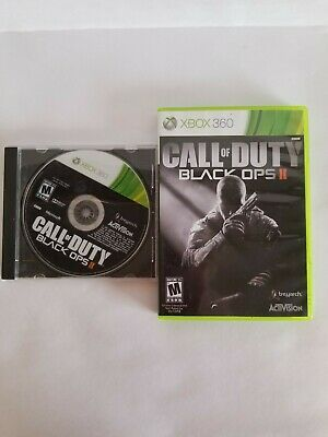 XBOX 360 Call of Duty: Black Ops II - TWO COPIES - Both Tested & Working