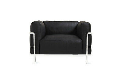 Authentic Cassina LC3 Grand Modele Armchair with Down Cushions | DWR