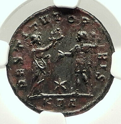 PROBUS w WOMAN Authentic Ancient 278AD Genuine Roman Coin NGC Certified i76005