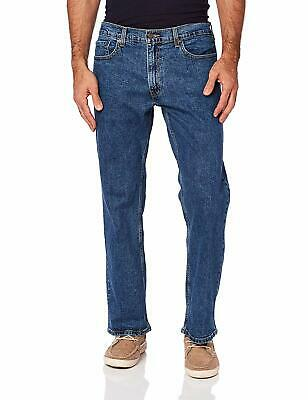 Signature By Levi Strauss & Co. Gold Label Indigo Mens Relaxed Flex Jeans