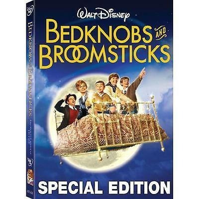 Bedknobs and Broomsticks (DVD, 2009, Enchanted Musical Edition) FREE SHIPPING
