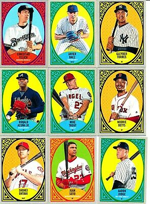 2019 Topps Heritage - NEW AGE PERFORMERS INSERTS - U Pick From List