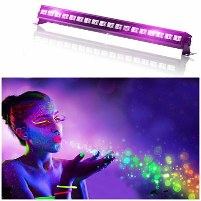 U`King 54W UV 18LED Black Light Wall Wash Stage Lighting Disco DJ Party Show Bar
