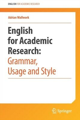 English for Research: Usage, Style, and Grammar (Paperback), Wall...