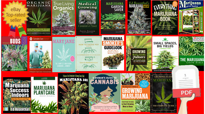 45+ Cannabis Grow Bible, Marijuana Book, Plant Care, Guides - SEE DETAILS