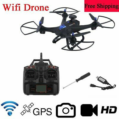 X183 Wifi Drone With 2MP HD Camera GPS BrushlPNs 6-AxlPN RC Quadcopter Device TT